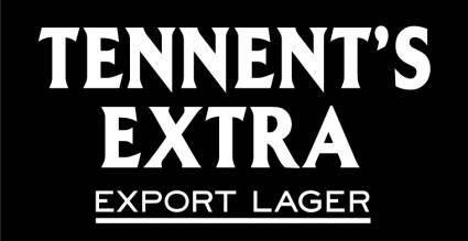 free vector Tennents Extra logo
