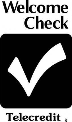 free vector Telecredit logo
