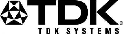 free vector TDK logo