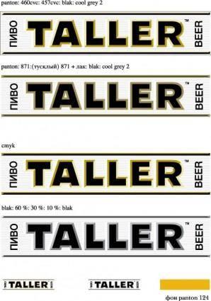 Taller beer logo