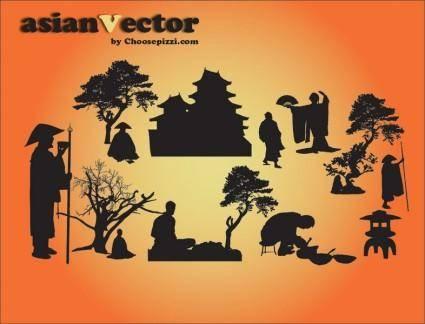 free vector Oriental Vectors
