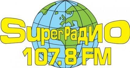 free vector SuperRadio logo