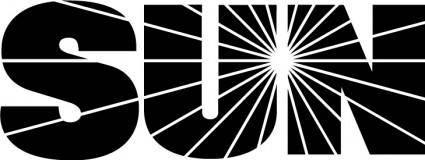 free vector SUN logo