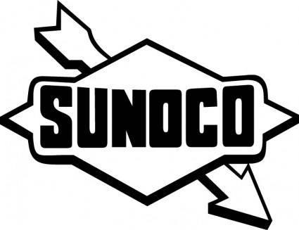 free vector Sunoco Petroleum logo
