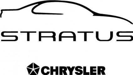 free vector Stratus Chrysler logo