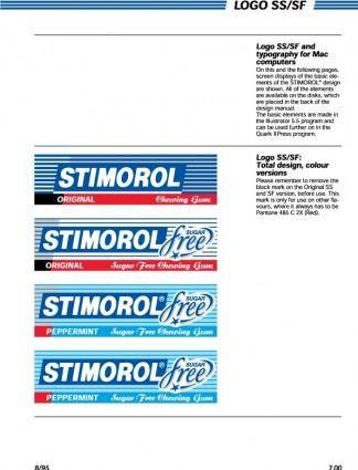 Stimorol packs SS-SF