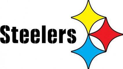 free vector Steelers logo
