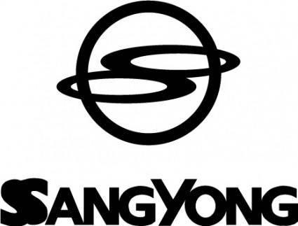 free vector SsangYong logo