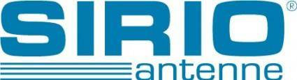 free vector Sirio Antenne logo
