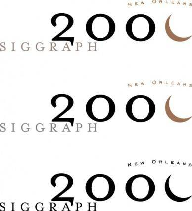 Siggraph 2000 logos