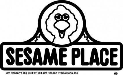 free vector Sesame Place logo