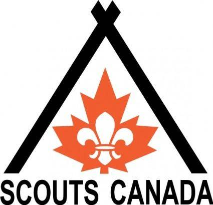 free vector Scouts Canada logo