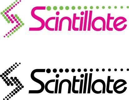free vector Scintillate logo