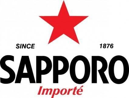 free vector Sapporo logo