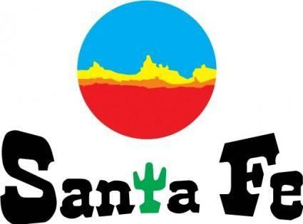 free vector Santa Fe logo