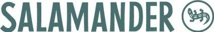 free vector Salamander logo