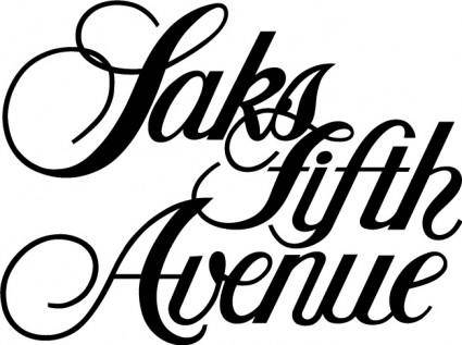 free vector Saks fifth avenue logo