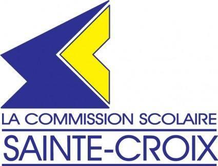free vector Sainte-Croix logo