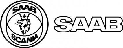 free vector Saab logo