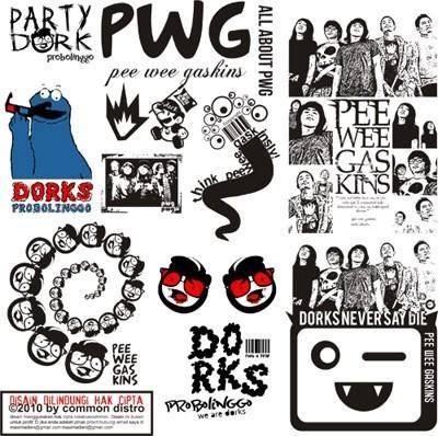 free vector Pee Wee Gaskins Band