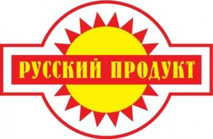 Russian product logo