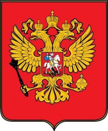 free vector Russian federation emblem