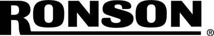 free vector Ronson logo