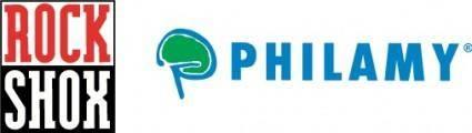 free vector Rock Shox Philamy logo