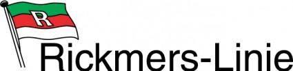 free vector Rickmers-Linie logo