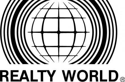 free vector Realty World logo