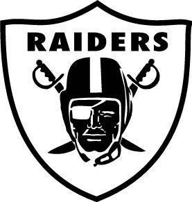 free vector Raiders logo