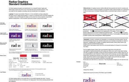 free vector Radius logo