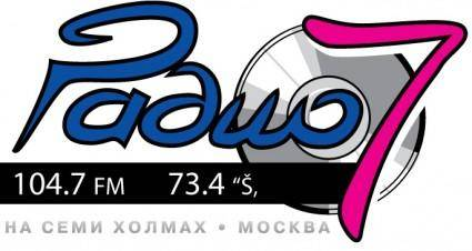 free vector Radio 7 logo