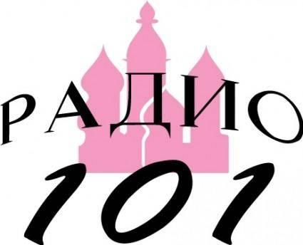 free vector Radio 101 logo