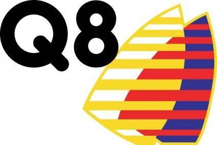 free vector Q8 logo