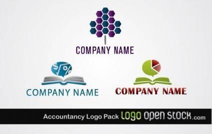 free vector Accountancy Logo Pack