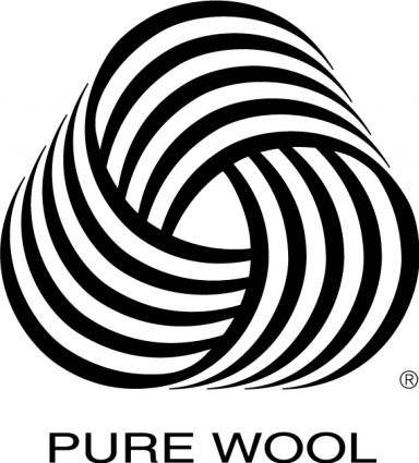 free vector Pure Wool logo