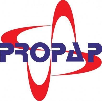 free vector Propap logo