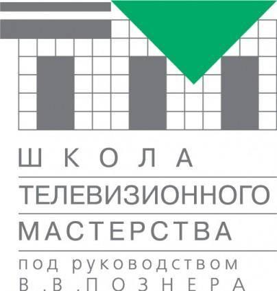 free vector Posners TV school logo