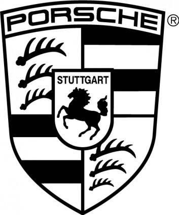free vector Porsche logo