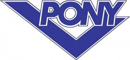 free vector Pony logo
