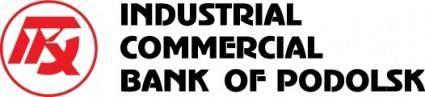 free vector Podolsk bank logo