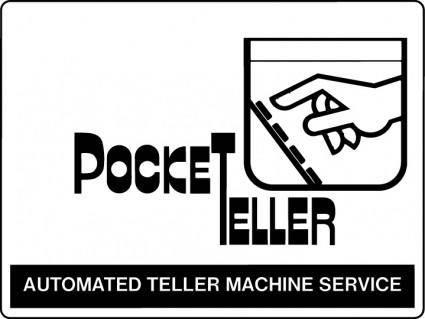 free vector Pocket Teller logo