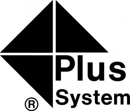 free vector Plus System logo