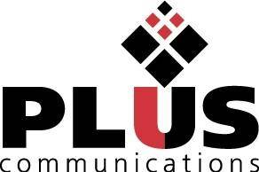 free vector Plus Communications logo
