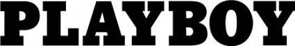 free vector Playboy logo logo