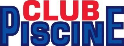 free vector Piscine Club logo