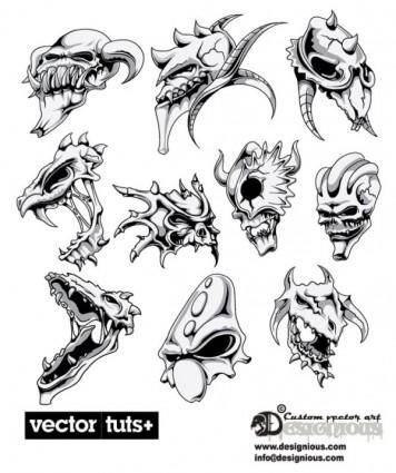 free vector Avatar of warcraft terror 03 vector