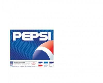 free vector Pepsi master logo