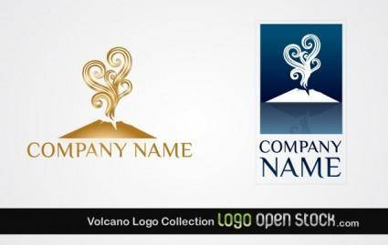 free vector Volcano Logo Collection